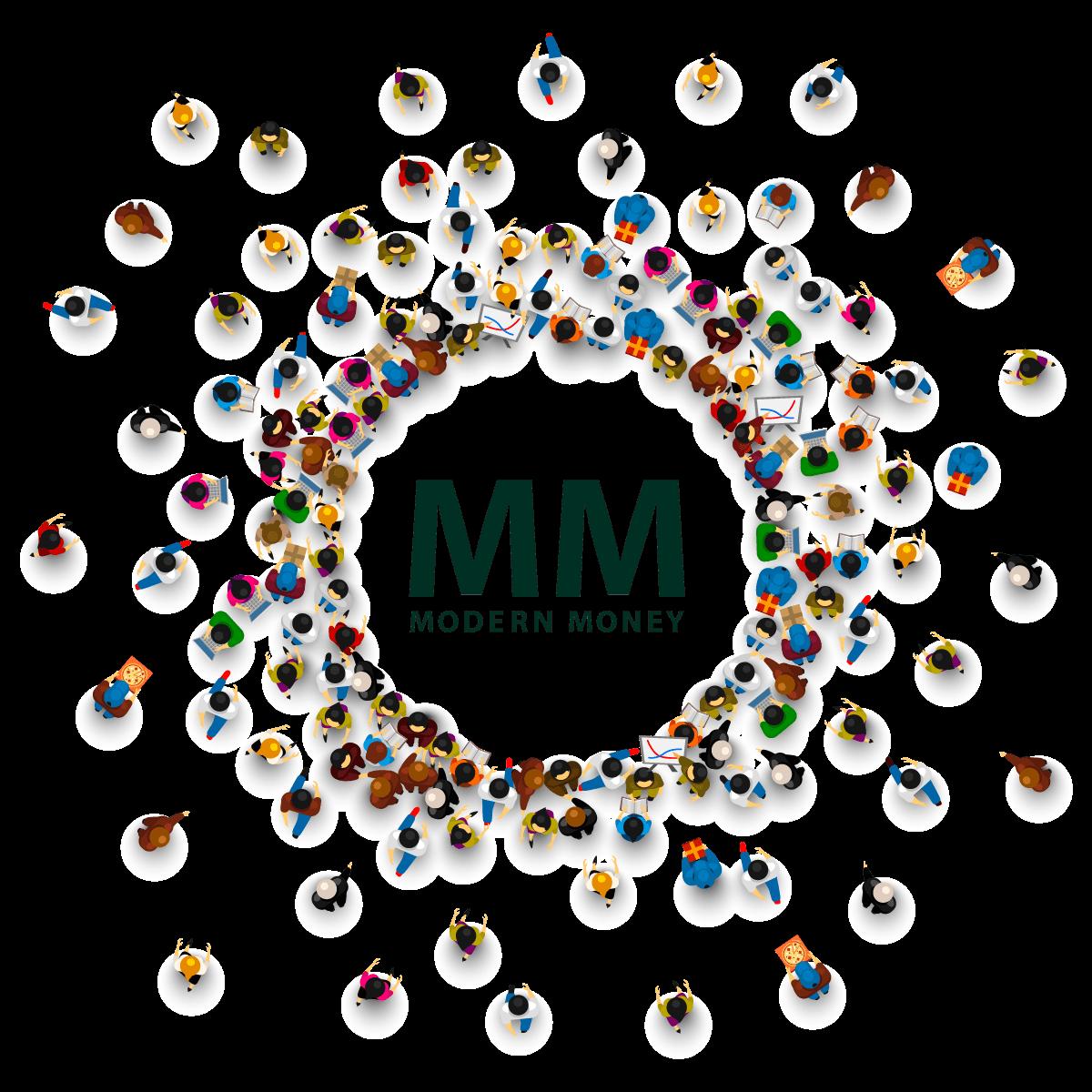 modern money people circle